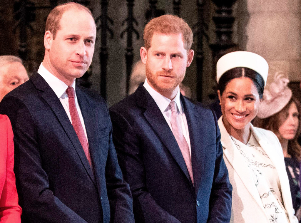Prince William, Prince Harry, Meghan Markle